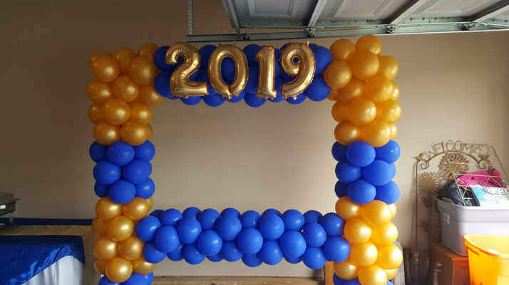 Air-Filled Balloons Photo Frame