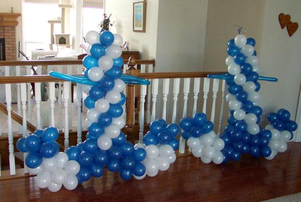 Air-Filled Balloon Anchor Column