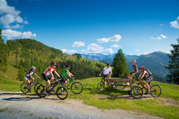 Großes Mountainbike Wegenetz im Grossarltal - © www.grossarltal.info