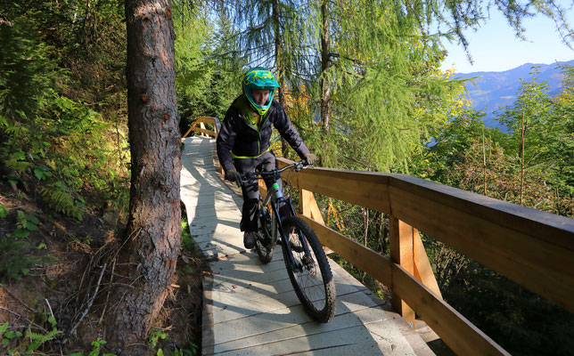 Mountainbikeparadies Harbachbahn Grossarltal - © www.grossarltal.info
