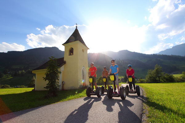 Aktivprogramm Segway Fahren - Geführte Touren im Grossarltal - © www.grossarltal.info