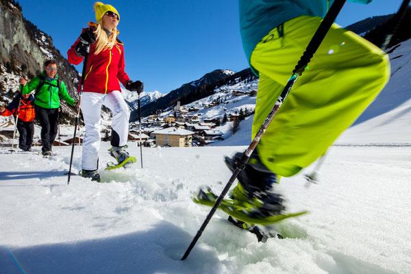 Aktivprogramm Schneeschuhwandern Grossarltal - © www.grossarltal.info