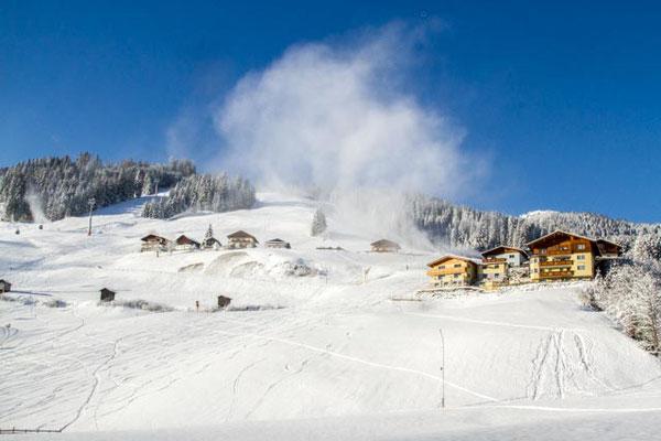 Pulverschnee und Sonnenschein - beste Pistenbedingungen im Salzburger Land