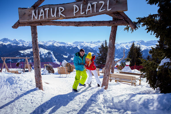Ruheplatzl Natur Winterlandschaft Schnee - © www.grossarltal.info