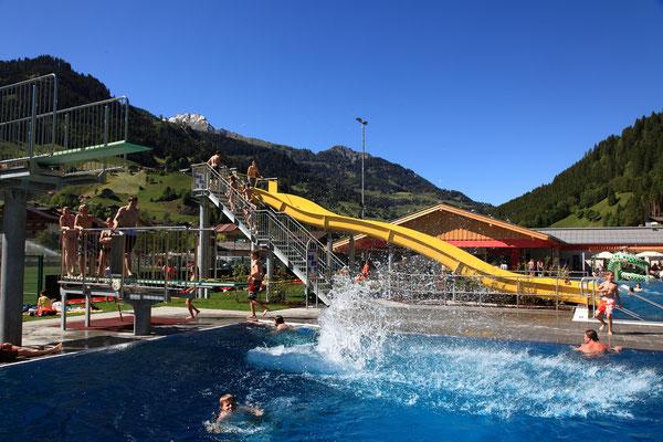 Freizeitzentrum Freibad Wasserspaß und Rutschenparadies - Grossarltal - © www.grossarltal.info
