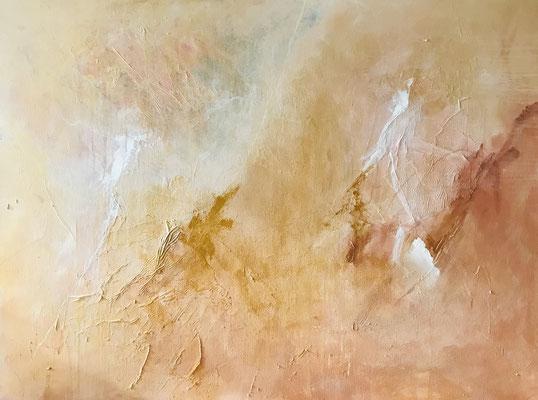 golden, 120x90cm, Acryl auf Leinwand