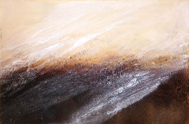 schleierhaft, 90x60cm, Acryl auf Leinwand (verkauft)