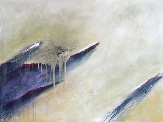 Klarheit 120x90cm, Acryl auf Leinwand (verkauft)