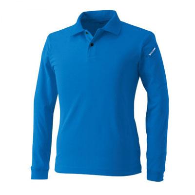 TS DESIGN~TSデザイン~4075 ロングスリーブポロシャツ 41 ロイヤルブルー
