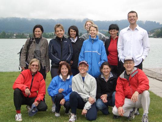 Die Sportfachgruppe am Ruder- und Bike-Event