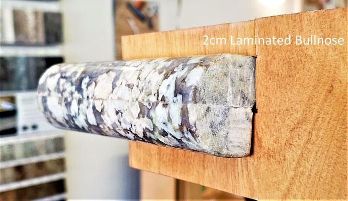 2cm Laminated Bullnose - Premium