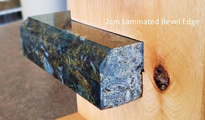 2cm Laminated Bevel Edge - Upgrade