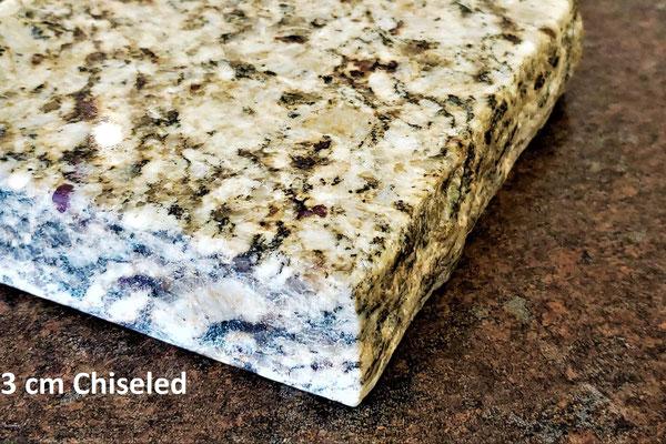 3cm Chiseled Edge (Granite Only) - Upgrade