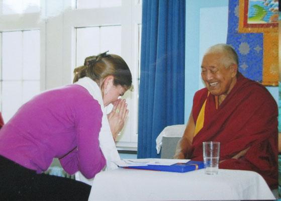 Buddhismus - Lopön Tenzin Namdak Rinpoche