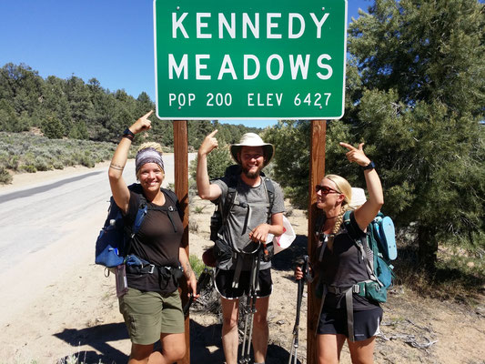 Welcome to Kennedy Meadows!
