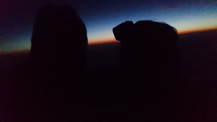 4:50 auf Mt. Whitney