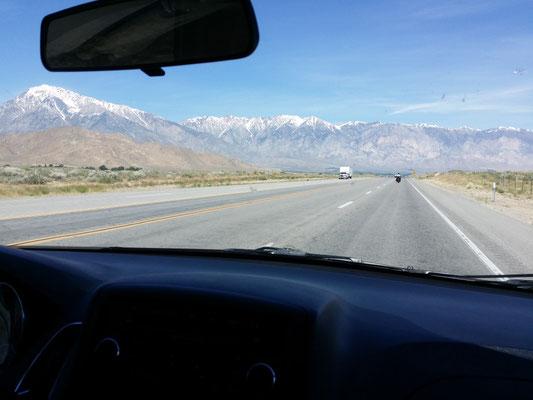 Roadtrip entlang der Sierra nach Ashland