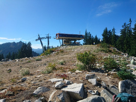 Skilift vor Stevens Pass