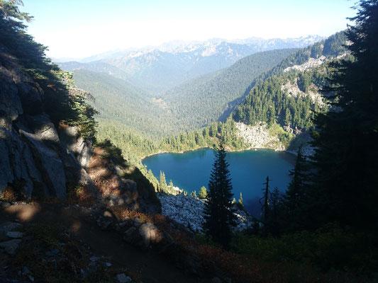 Blick auf Glacier Lake