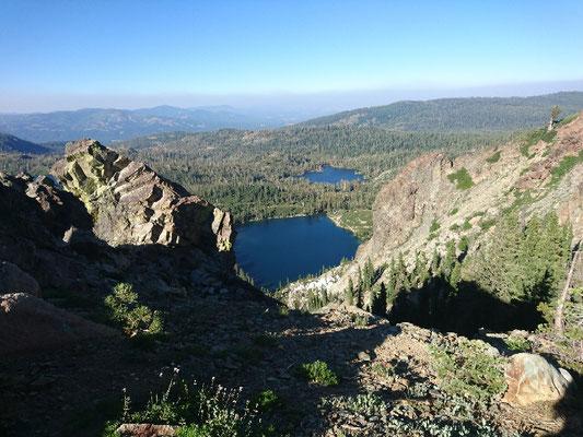 Blick von den Sierra Buttes