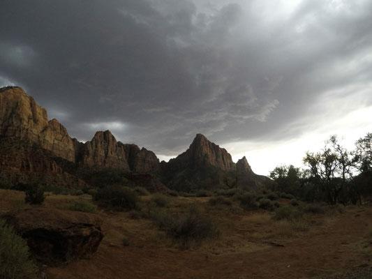 Der Thunderstorm kommt näher