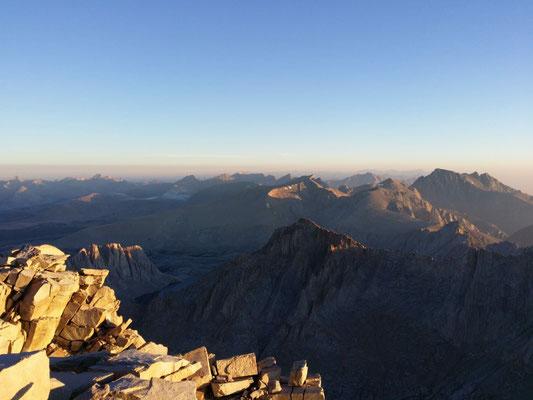 Blick von Mt. Whitney