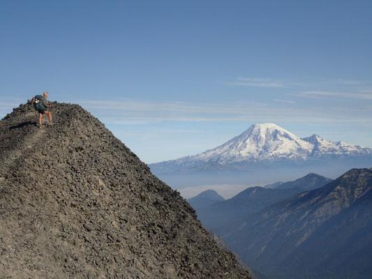Blick auf Mt. Rainier