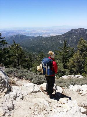 Blick von der Fuller Ridge