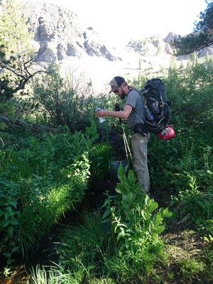 Wasser gibt es in der Sierra reichlich