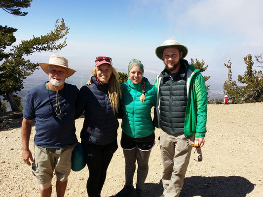 On Top of Mt. Baden-Powell