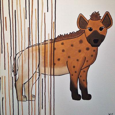 Die freundliche Hyäne