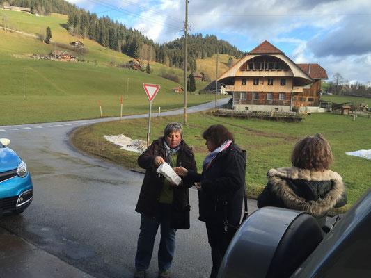Ankunft in Schangnau