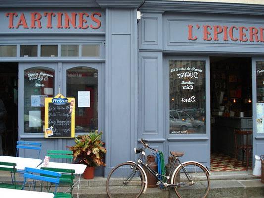 Lettrages-bistrot à l'ancienne-Rennes
