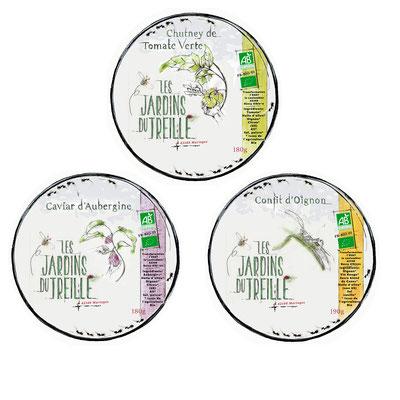 Nouvelles étiquettes de nos bocaux de légumes bio et locaux