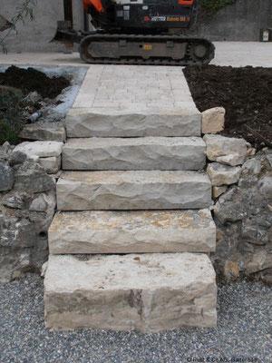 Jurastein-Treppe