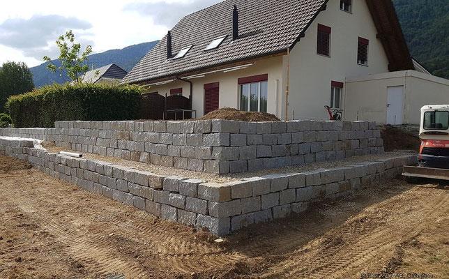 Granit Quadersteine 30x30xfreie Längen