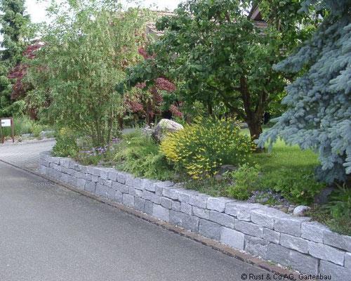 Granit Kleinmauersteine