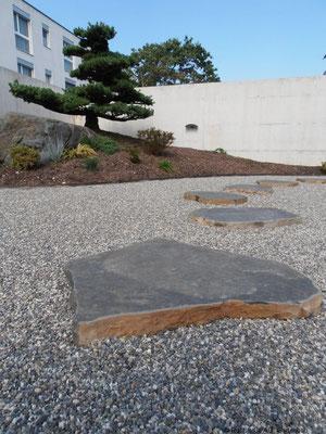 Basalt-Schrittplatten