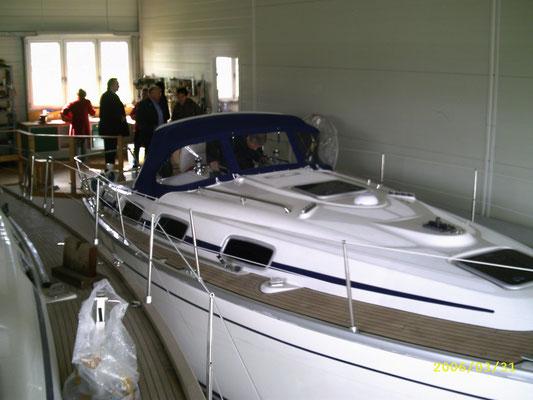 MARINGA Taufe 31.März 2006 in der Werft Meltl am Chiemsee