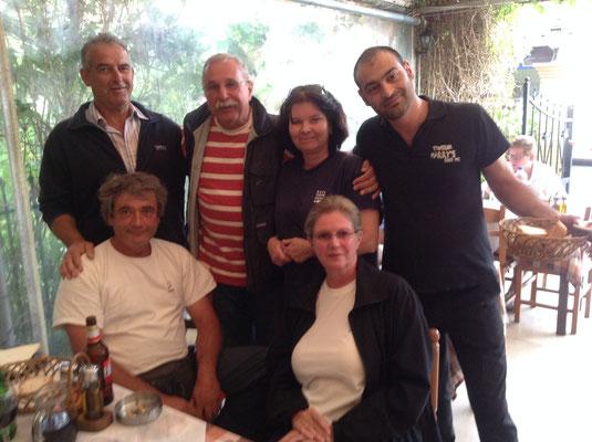 Bei Harry und Klaus, Gerti, Birgit, Harry und Klaus