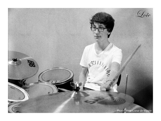 Loïc, le batteur