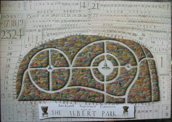 'The Albert Park' 1520 x1065mm,Oil on canvas SOLD