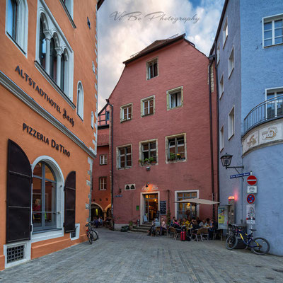 Rote-Hahnen-Gasse, Regensburg.