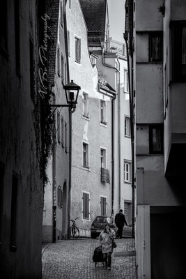 St.-Albans-Gasse, Regensburg.