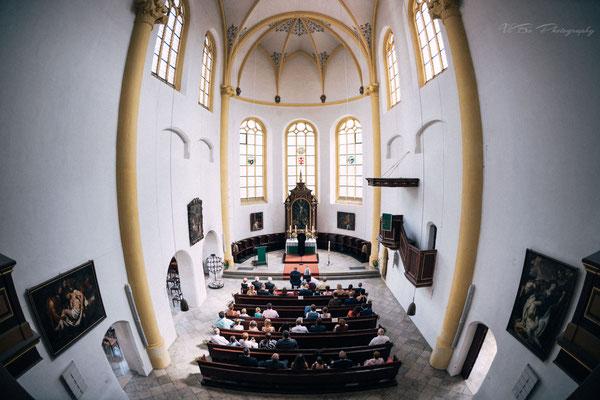 Trauung in Neupfarrkirche Regensburg.