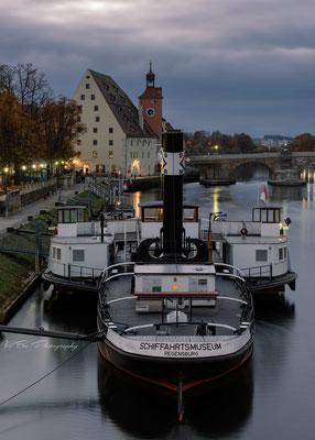 Regensburger Schifffahrtsmuseum.