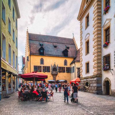 Rathausplatz, Regensburg.