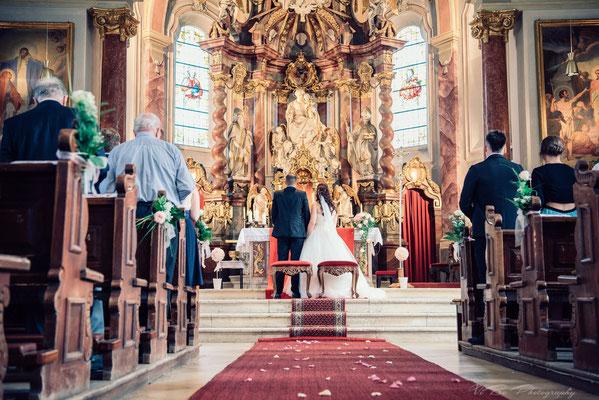 Hochzeit in Regensburg Reinhausen.
