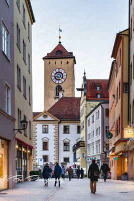 Kohlenmarkt mit Rathaus, Regensburg.