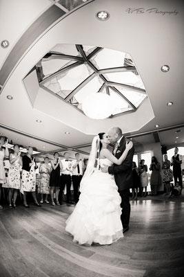 Der Abschluss des Hochzeitstanzes.